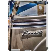 Plymouth iPad Case/Skin
