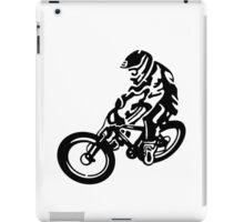 Black and White MTB iPad Case/Skin