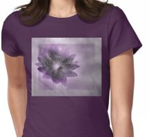 My Beauty Is Fading Away - Image and Poem Womens Fitted T-Shirt