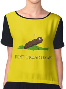 DONT TREAD ON ME Chiffon Top