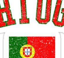 Portugal Flag Vintage Sticker