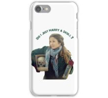 Waverly Earp: Did I Just Marry A Skull? iPhone Case/Skin