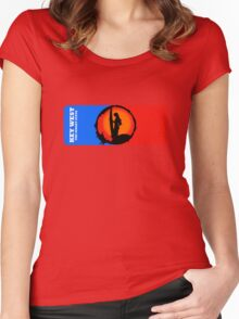 The Sunset Of Key West Women's Fitted Scoop T-Shirt