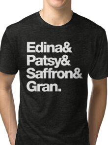 Ab Fab - Edina & Patsy & Saffron & Gran Tri-blend T-Shirt
