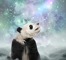 My Thoughts are Stars • (Panda Dreams / Color 2) by soaringanchor