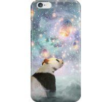 Let Your Dreams Take Flight • (Panda Dreams 2 / Color 2) iPhone Case/Skin