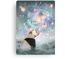 Let Your Dreams Take Flight • (Panda Dreams 2 / Color 2) Canvas Print