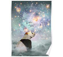 Let Your Dreams Take Flight • (Panda Dreams 2 / Color 2) Poster