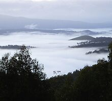 a sea of clouds by Alenka Co
