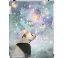 Let Your Dreams Take Flight • (Panda Dreams 2 / Color 2) iPad Case/Skin