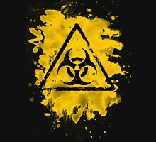 Biohazard – bleached grungy look Unisex T-Shirt