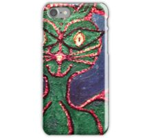 Whimsical cat iPhone Case/Skin