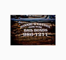 Bonnie and Clydes Bails Bonds Sign Unisex T-Shirt