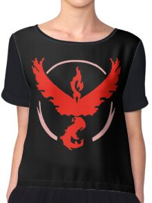 Pokemon GO - Team Valor MERCH Chiffon Top