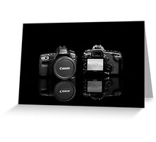 Canon EOS 5D Mark III Greeting Card