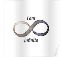 I am infinite Poster