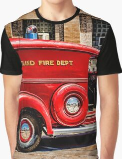 Loveland Fire Sedan Graphic T-Shirt