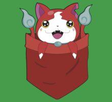 Pocket Jibanyan One Piece - Short Sleeve