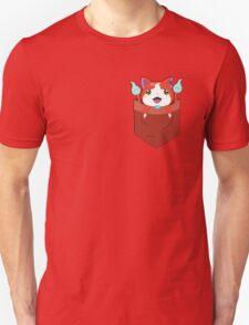 Pocket Jibanyan Unisex T-Shirt