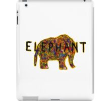 Elephant. In a variety of colours. iPad Case/Skin