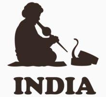 India Snake Charmer t-shirt One Piece - Short Sleeve