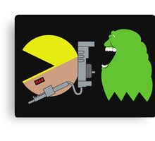 Pac Ghost   Ghostbusters Canvas Print