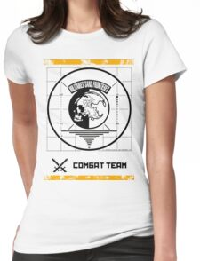 Metal Gear Solid MSF Combat Team Shirt Womens Fitted T-Shirt