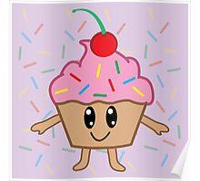 A Cute Little Cupcake Poster