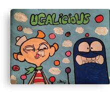 UGALICIOUS PT 1 Canvas Print