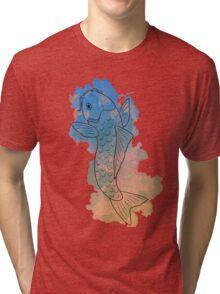 Koi WaterColours: Desert Tri-blend T-Shirt