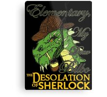 The Desolation of Sherlock Metal Print