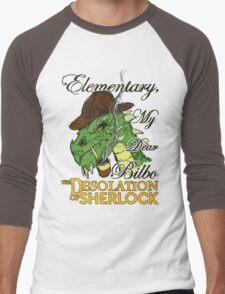 The Desolation of Sherlock Men's Baseball ¾ T-Shirt