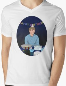 Ross' Birthday Mens V-Neck T-Shirt