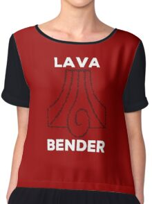 Lava Bender and Proud Chiffon Top