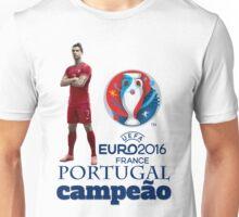 Portugal - campeão EURO 2016 Unisex T-Shirt