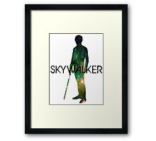 Luke Skywalker Galaxy Framed Print