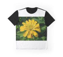 Zesty Zinnia Graphic T-Shirt