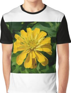 Zesty Zinnia Graphic T-Shirt