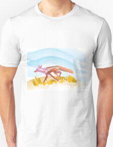 Running Red Fox Unisex T-Shirt