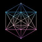 Sacred geometry / Minimal Hipster Symbol Art by badbugs
