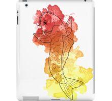 Koi Watercolours: Flame iPad Case/Skin