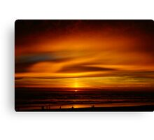 Cape Lookout at Sunset #3 Canvas Print