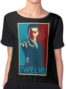 Peter Capaldi Hope Poster Chiffon Top