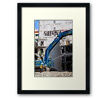 DEMOLITION - Trust Framed Print