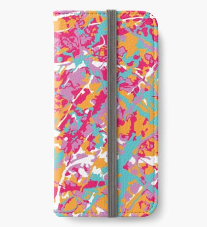 Artist Camouflage iPhone Wallet