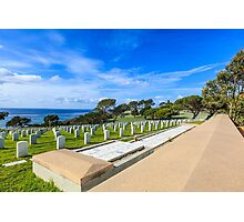 Fort Rosecrans National Cemetery Photographic Print