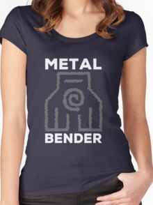 Metal Bender and Proud Women's Fitted Scoop T-Shirt