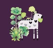 Animals Cartoon Zebra in Jungle Unisex T-Shirt