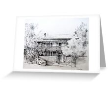 Anglesey House, Forbes Greeting Card