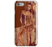 Apricot Showers iPhone Case/Skin